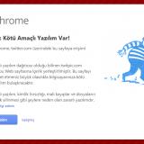 Bu site bilgisayarınıza zarar verebilir.
