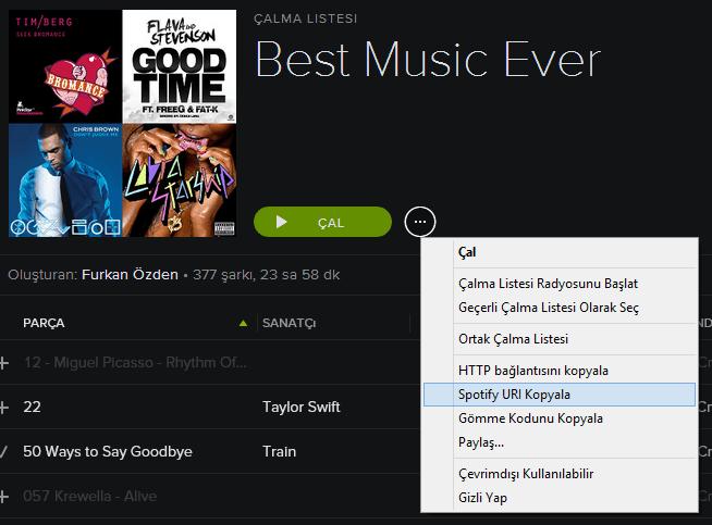 Spotifydl spotify ücretsiz müzik indir