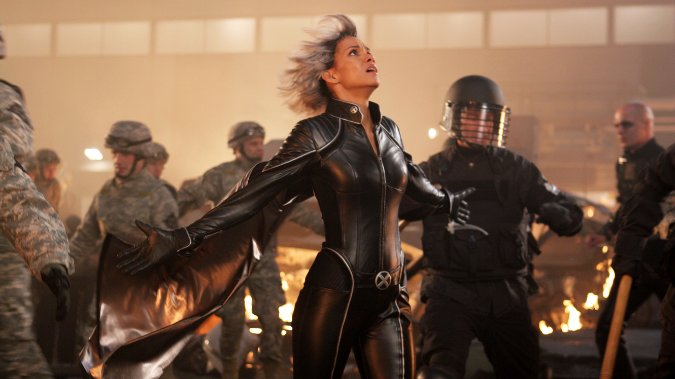halle berry as storm in x-men last stand