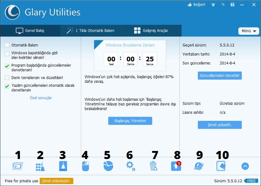 Glary Utilities indir Pro 5.132